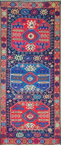 A Kazak Long Rug