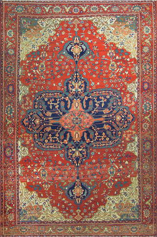 Elegant Antique Feraghan Sarouk