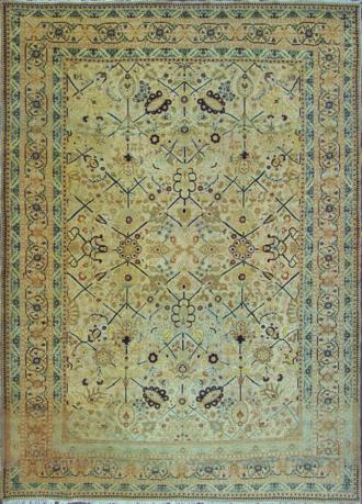 A Tabriz Hajji Jalili Carpet