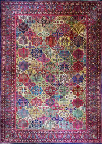 A Sarouk Feraghan Carpet