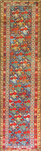 Antique Persian Malayer Runner, Most Unusual Design