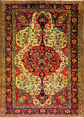 Antique Feraghan Sarouk