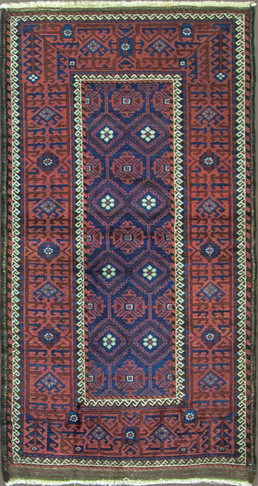 Incredible Antique Belouch Rug