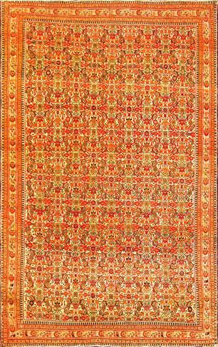 Antique Persian Sarouk Feraghan Rug, Fine