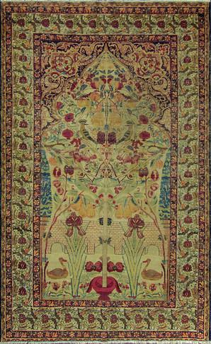 Striking Antique Persian Kermanshah