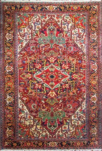 Striking Persian Heriz Carpet