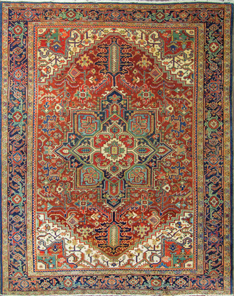 Beautiful Persian Heriz, c1920's