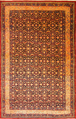 Aa Antique Tehran Carpet