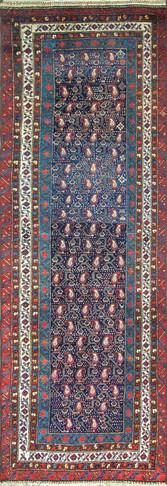 Stunning Antique Persian Kurdish Runner