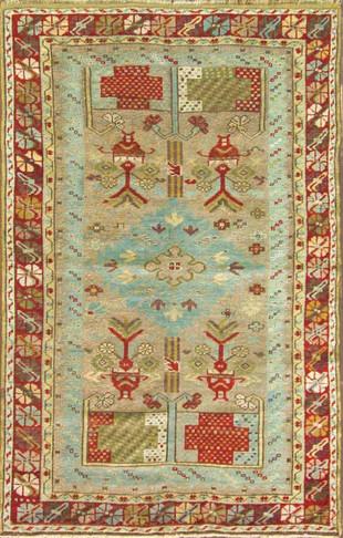 Amazing Antique Ghiordes Rug