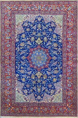 Very Fine Persian Isfahan Rug