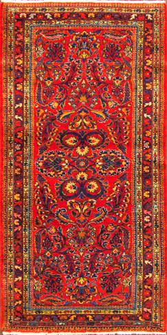 Short Persian Lilihan  Runner,