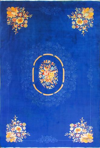 Antique Large Art Deco Carpet