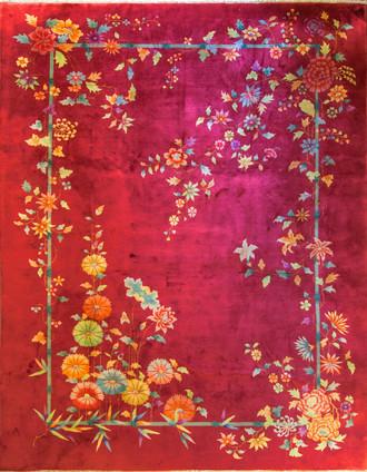 Most Wonderful Antique Art Deco Carpet