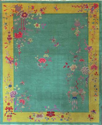 Antique Art Deco Chinese Carpet