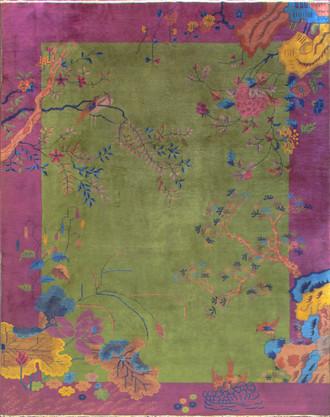 Antique Art Deco Chinese Carpet, A Dream Rug